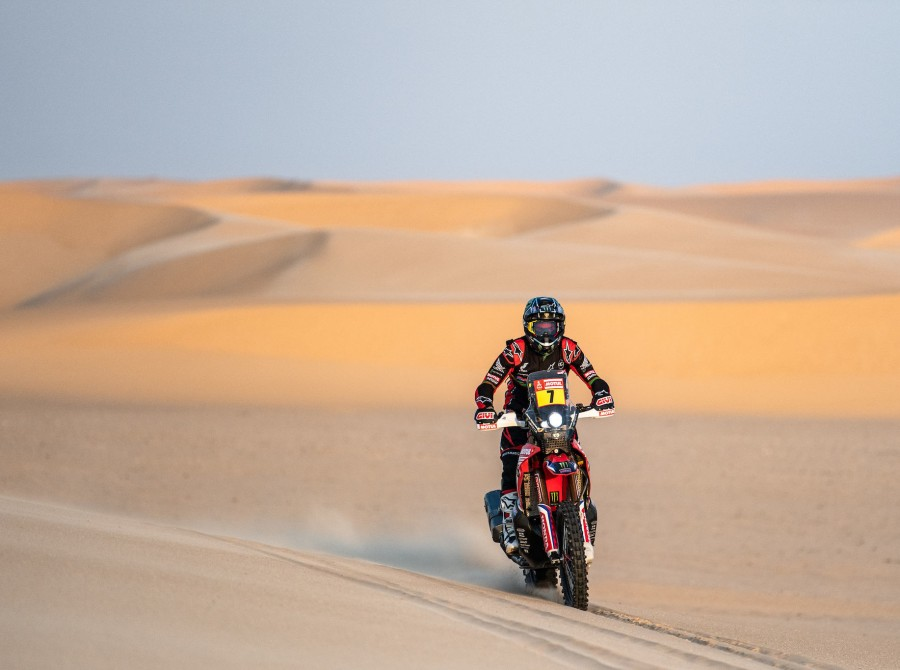 Benavides during Dakar Rally