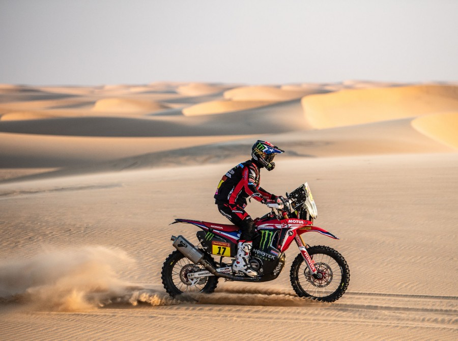 Cornejo during Dakar Rally