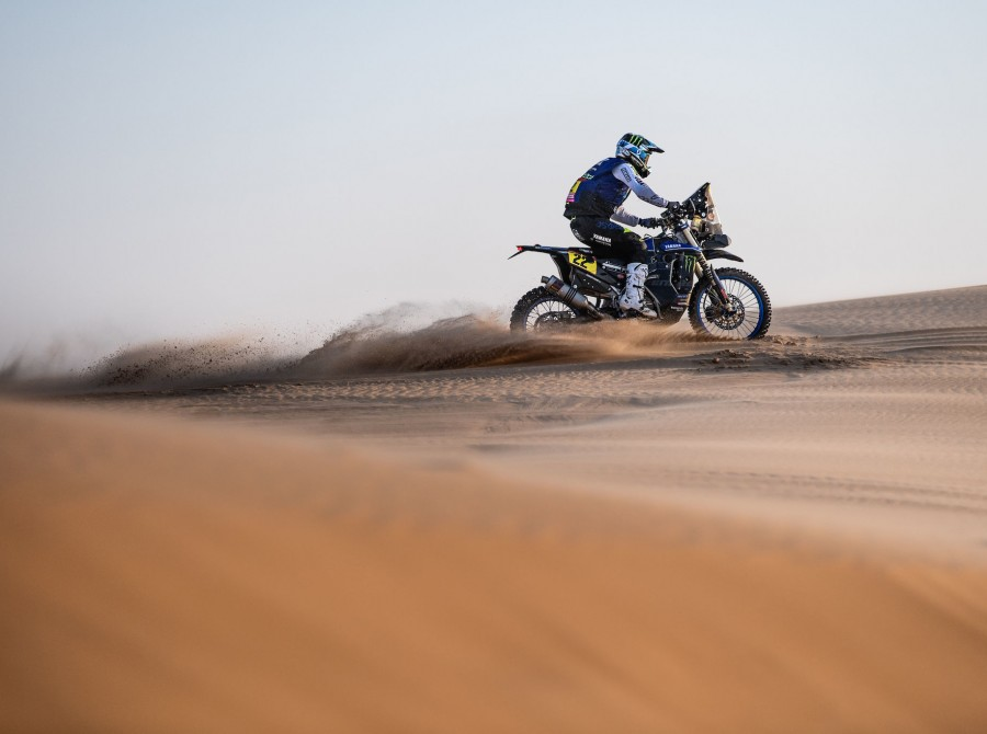 Caimi during Dakar Rally