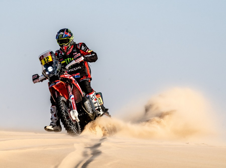 Barreda during Dakar Rally