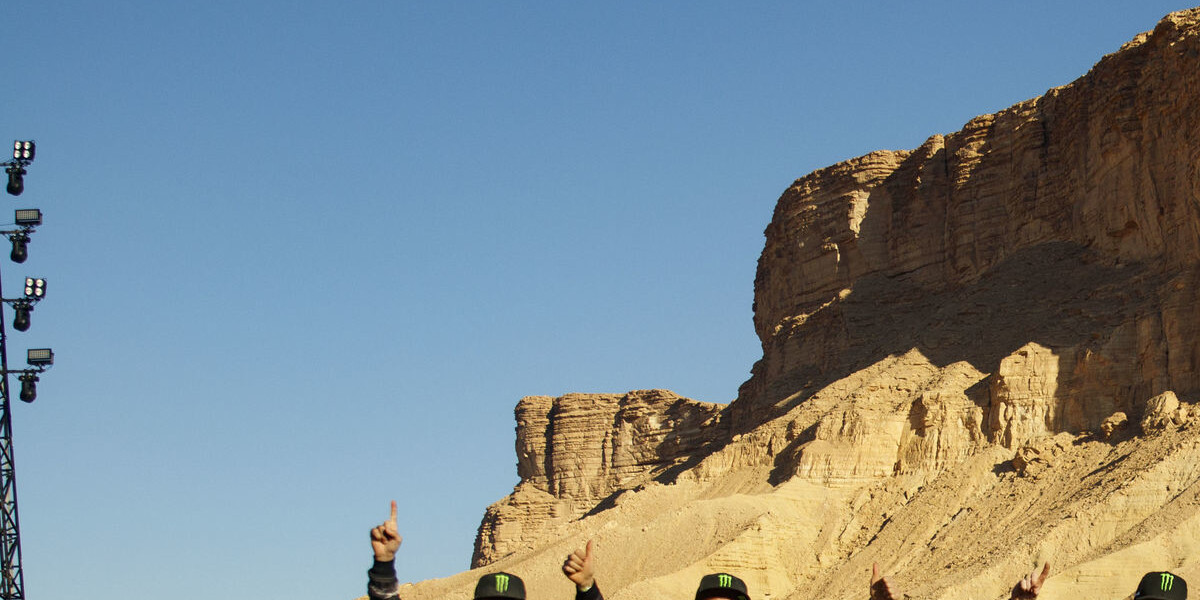 Winning shots from Dakar, Saudi Arabia