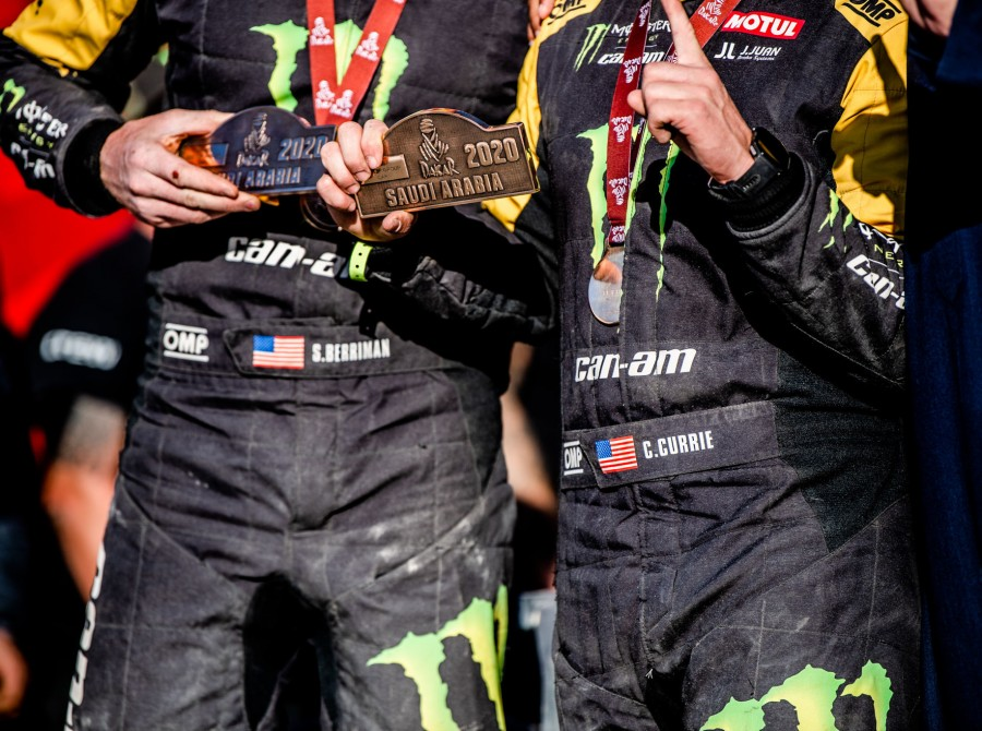Winning shots of Casey Currie at Dakar, Saudi Arabia
