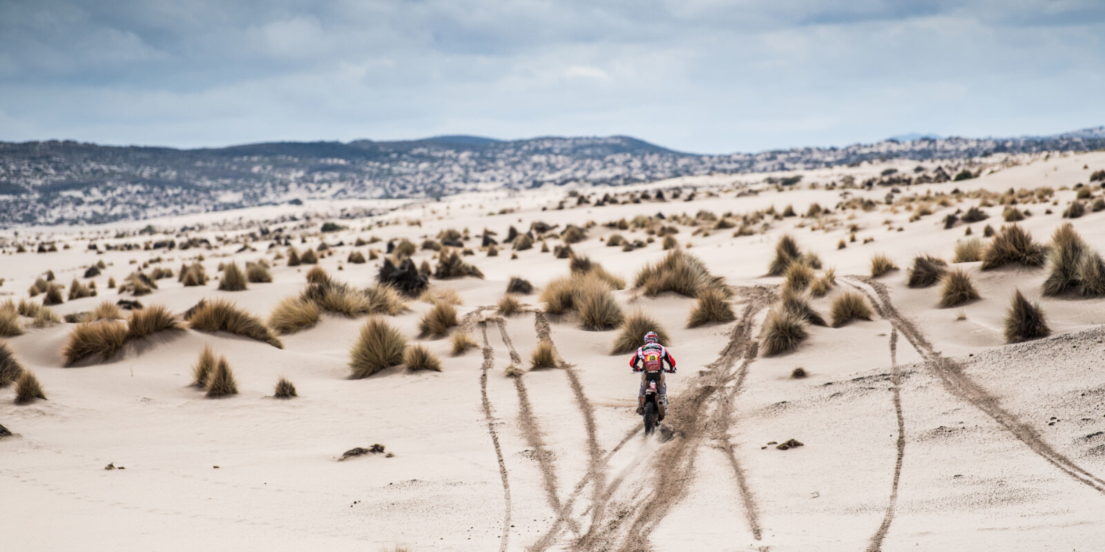 Ricky Brabec at the 2018 Dakar