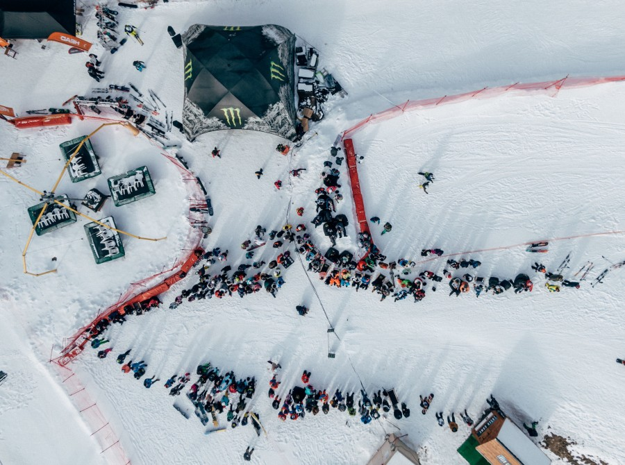Photos from Hungarian music and snowboard festival, Snowattack, held in Les Orres France