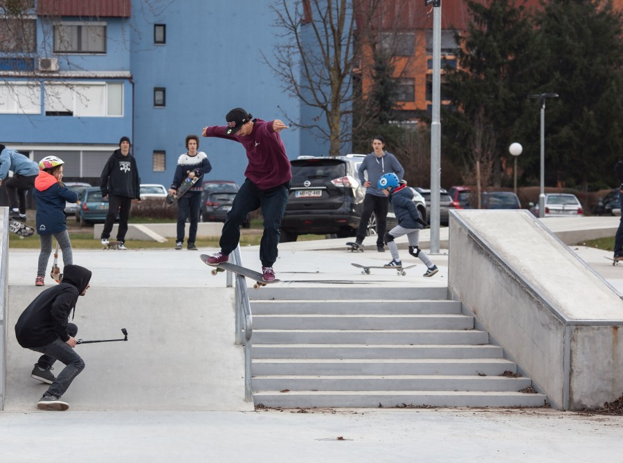 Images from PIK Your Line 2019 Skateboarding Session