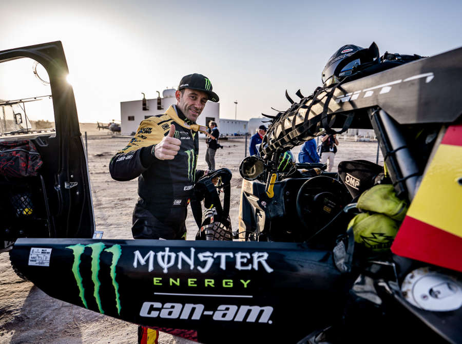 Images from the stage 9 bivouac of the 2020 Rally Dakar