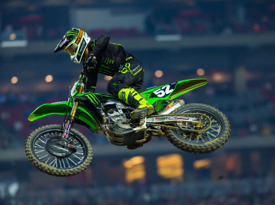 Images from the 2020 Supercross in Glendale, Arizona at the State Farm Stadium.