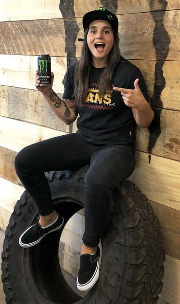 Macarena Perez profile photo for Monster Energy website