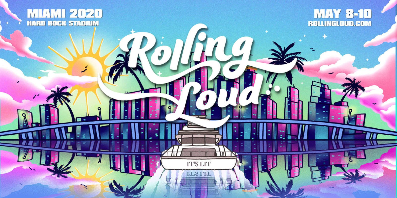 Rolling Loud Miami artwork file and hero images