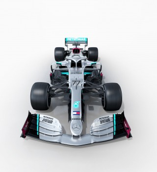 2020 F1 Mercedes W11 Reveal Images