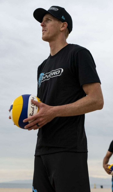 Photos of volleyball athletes for Hydro  *Approval to draft