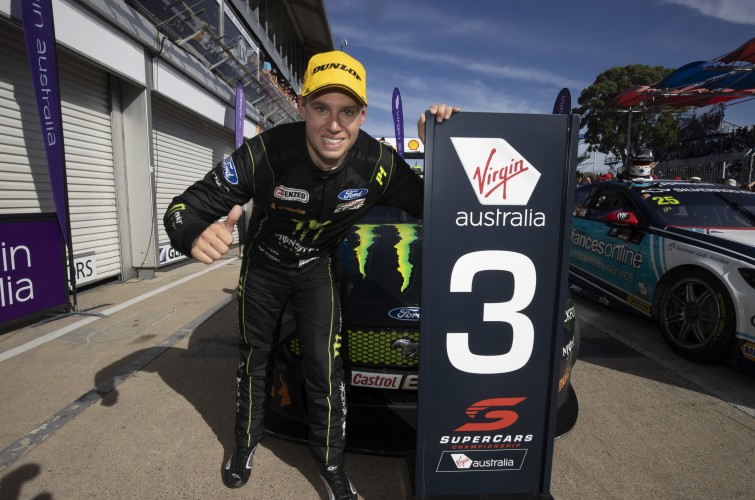 2020 V8 Supercars - Cameron Waters Podium Adelaide500
