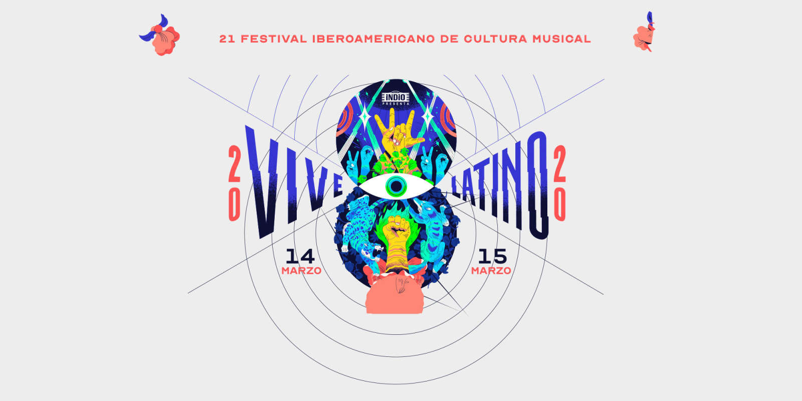 Vive Latino website banner
