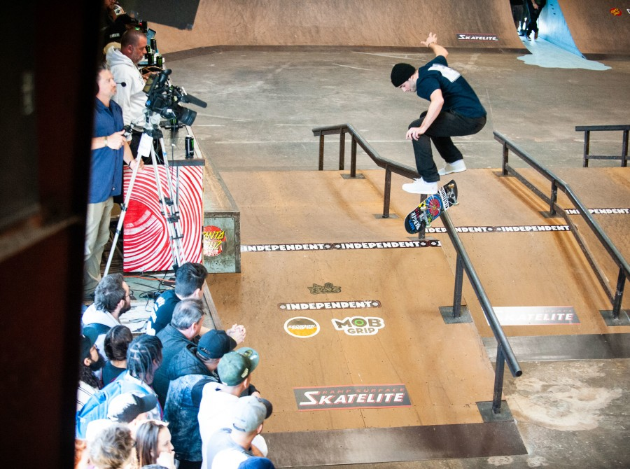 Images from the 2020 Tampa Pro in Tampa, Florida.