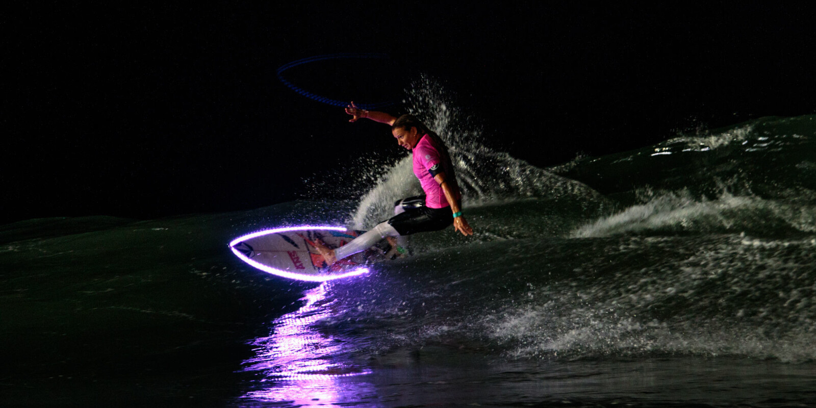 Surf de nuit event in Anglet