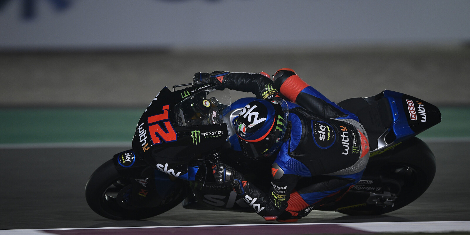 Moto2 images from the 2020 Grand Prix of Qatar