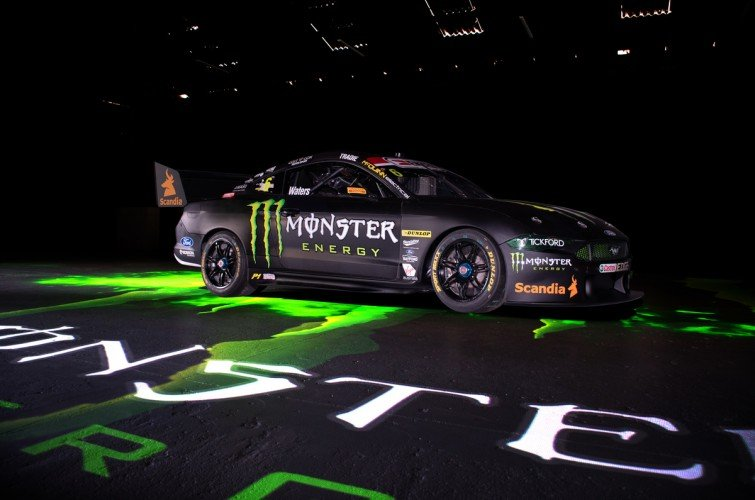 2020 Monster Energy Mustang - Tickford Racing - Cameron Waters V8 Supercars