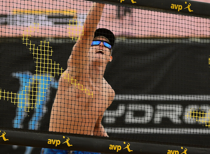 Photos from recent AVP New York Volleyball match