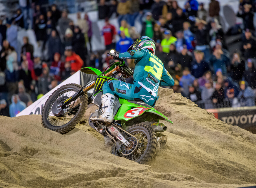 Shots from Supercross in Daytona, Florida