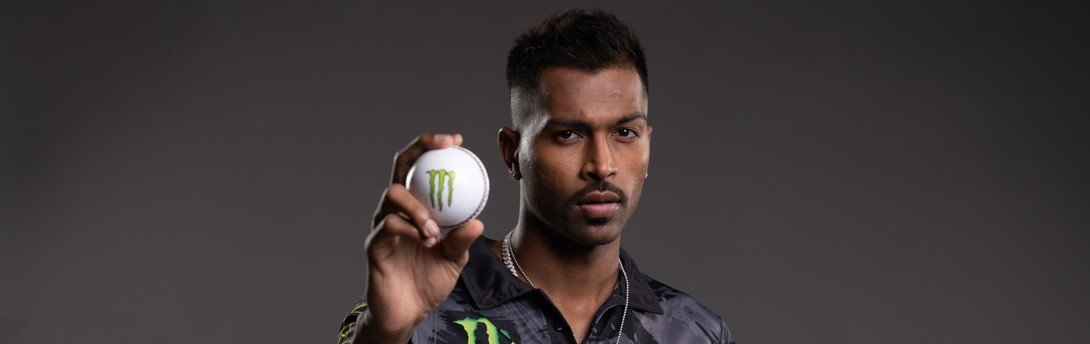Hardik Pandya - Monster Energy