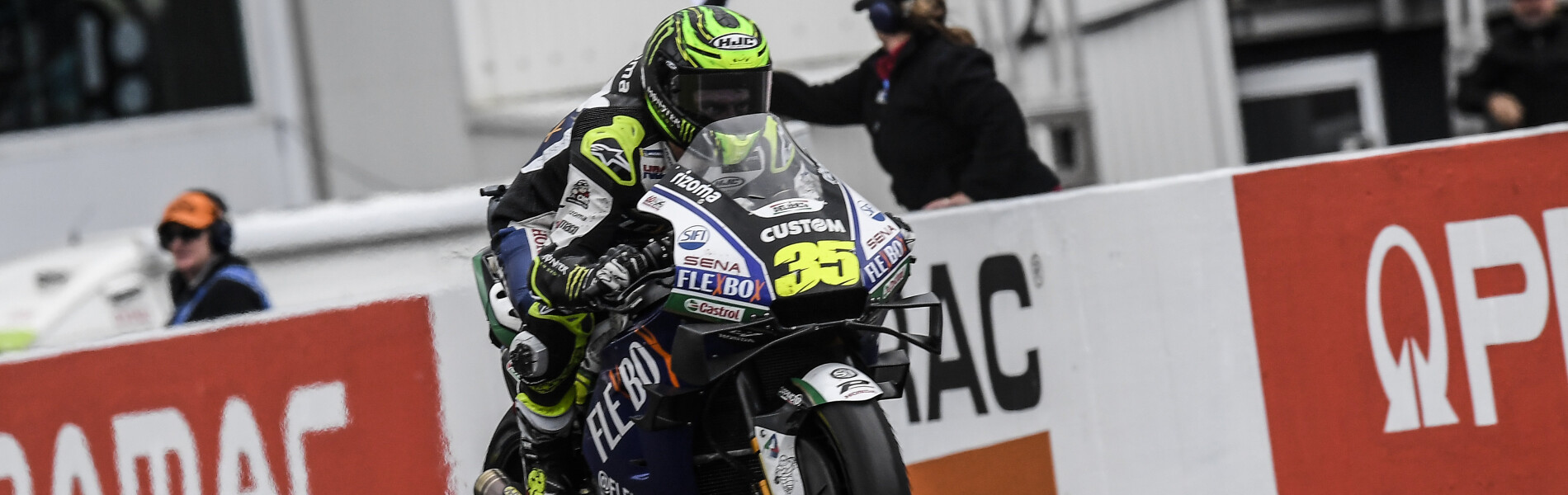 Cal Crutchlow at the 2019 Grand Prix of the Australia