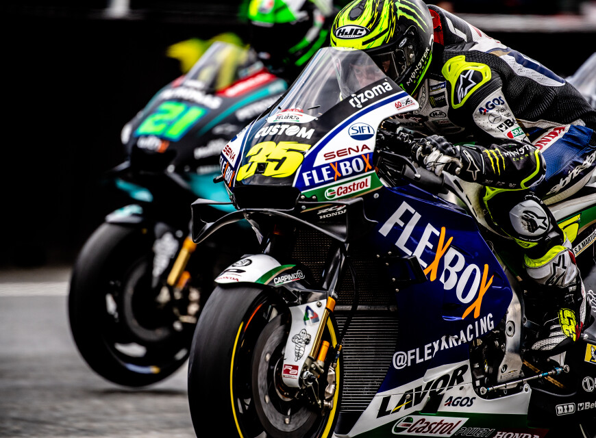 Shots from final day at MotoGP Brno