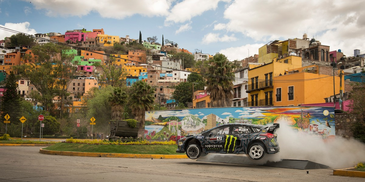 Gymkhana 10 assets, filmed in Guanajuato, Mexico