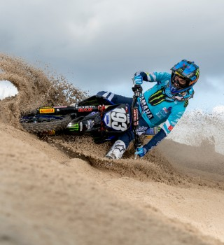 Images of Jago Geerts during pre-season testing