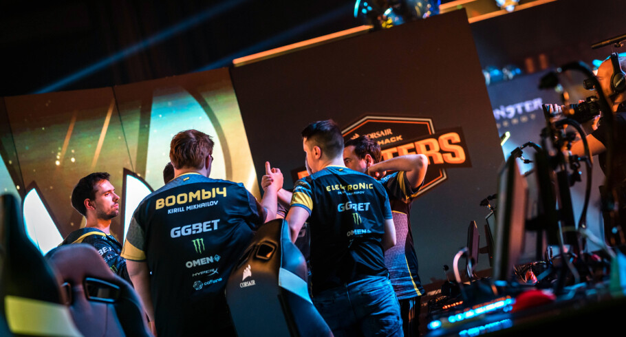 Photos of Natus Vincere's CSGO team as they compete at DreamHack Malmo at the Malmo Arena in Sweden. Navi finished 3rd/4th as they lost in the semi-finals to Team Vitality.