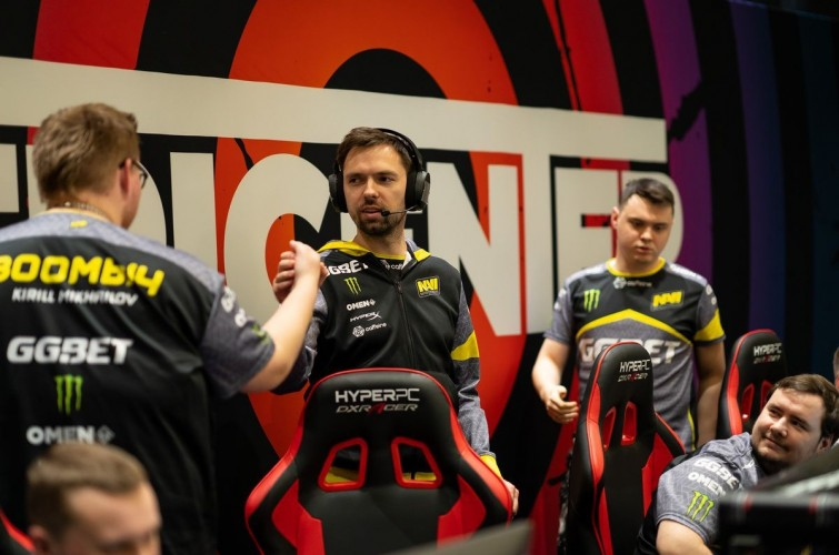 Coach of the Natus Vincere CS:GO team interview for Monster Energy