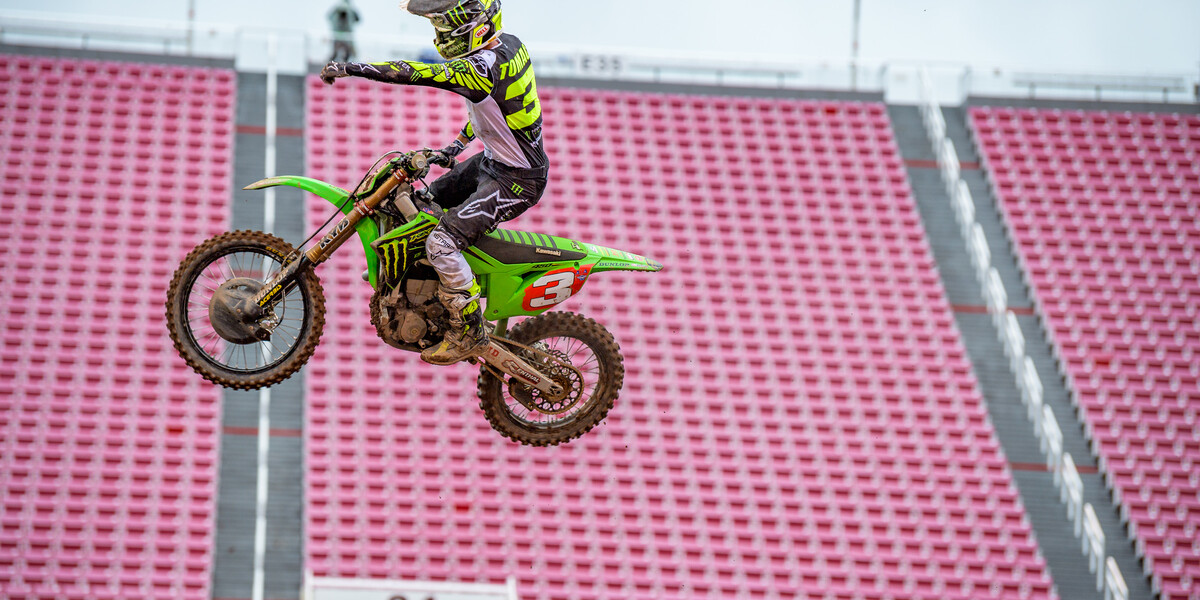 Images from 2020 Salt Lake City Supercross Round 13