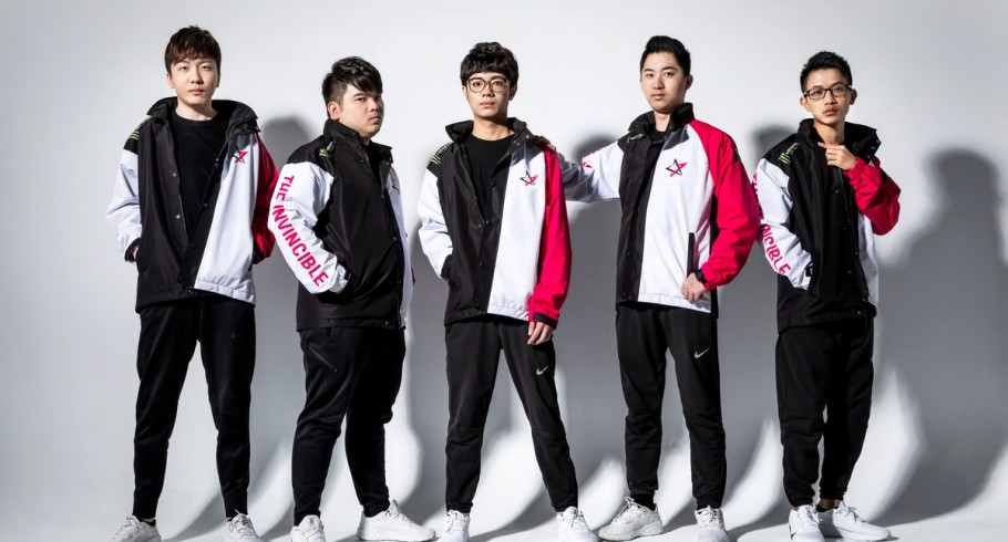 New Monster Energy gamers from Taiwan, J Team