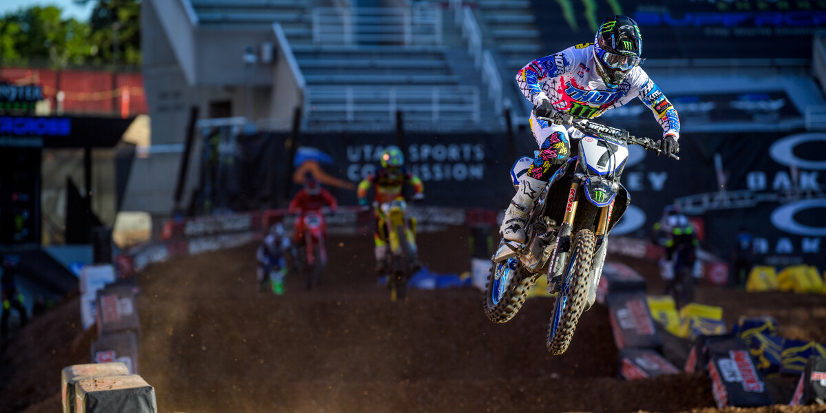 Images from 2020 Salt Lake City Supercross Round 14