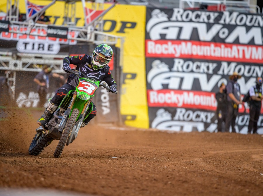 Images from 2020 Salt Lake City Supercross Round 15.