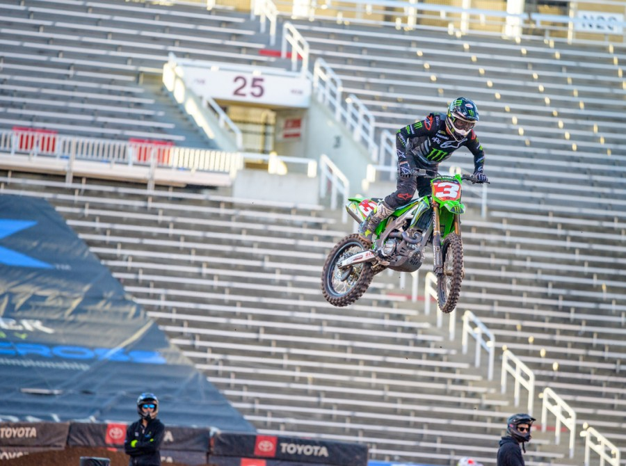 Images from 2020 Salt Lake City Supercross Round 16.