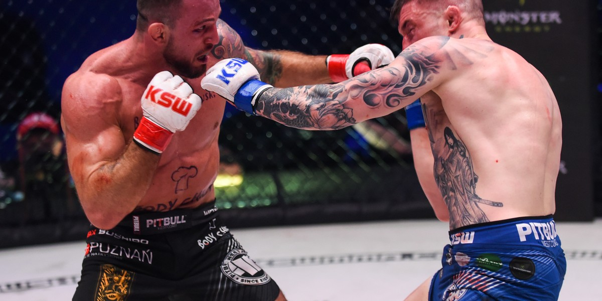 Images from KSW 47 MMA event in Łódź, Poland.