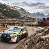 Images of Oliver Solberg during the 2020 WRC Monte Carlo