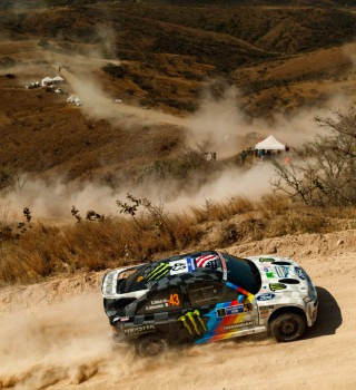 Images of Ken Block at WRC Mexico 2020