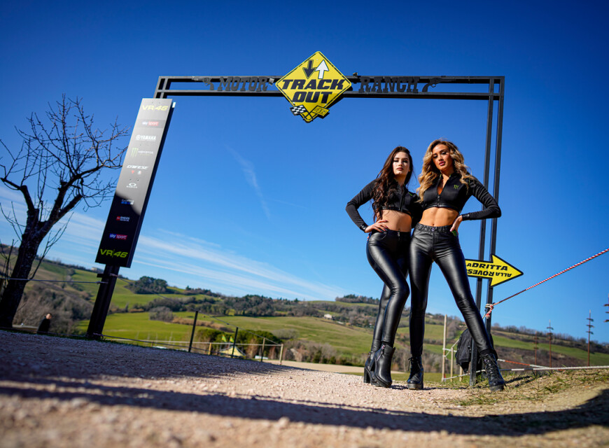 Monster Energy GIrls at the 2020 Sky Racing Team VR46 Launch