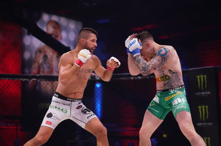 Images from KSW 53 in Poland.