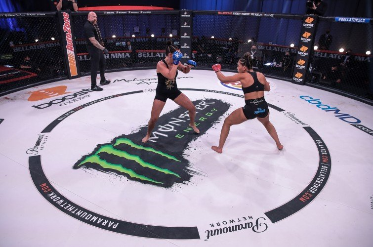 Images from Friday August 8, 2020 Bellator 243 at the Mohegan Sun Arena in Uncasville, Connecticut.