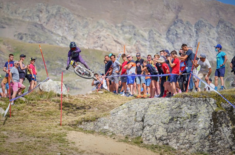 Images from the 2020 French Cup, Alpe d'Huez.