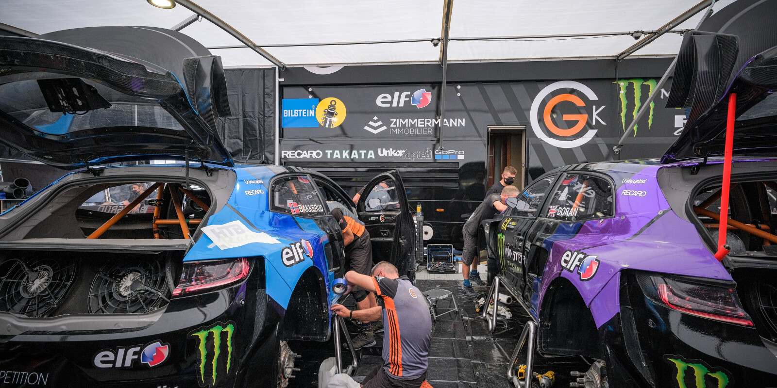 Images from round one of the 2020 FIA World Rallycross Championship