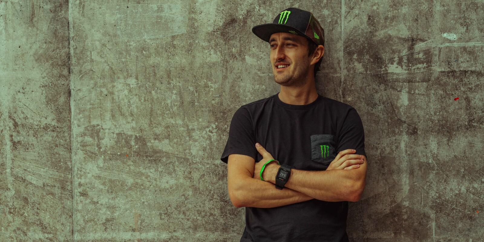 Lifestyle images of Monster's 2018 Speedway GP riders