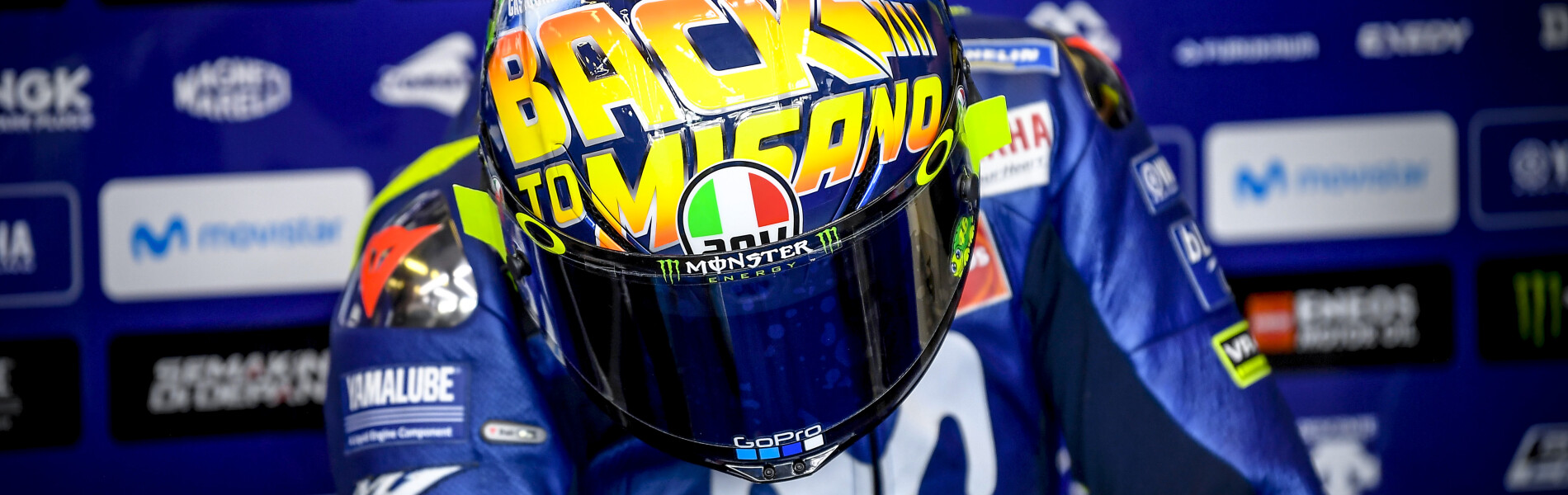Images of Valentino Rossi at the San Marino GP