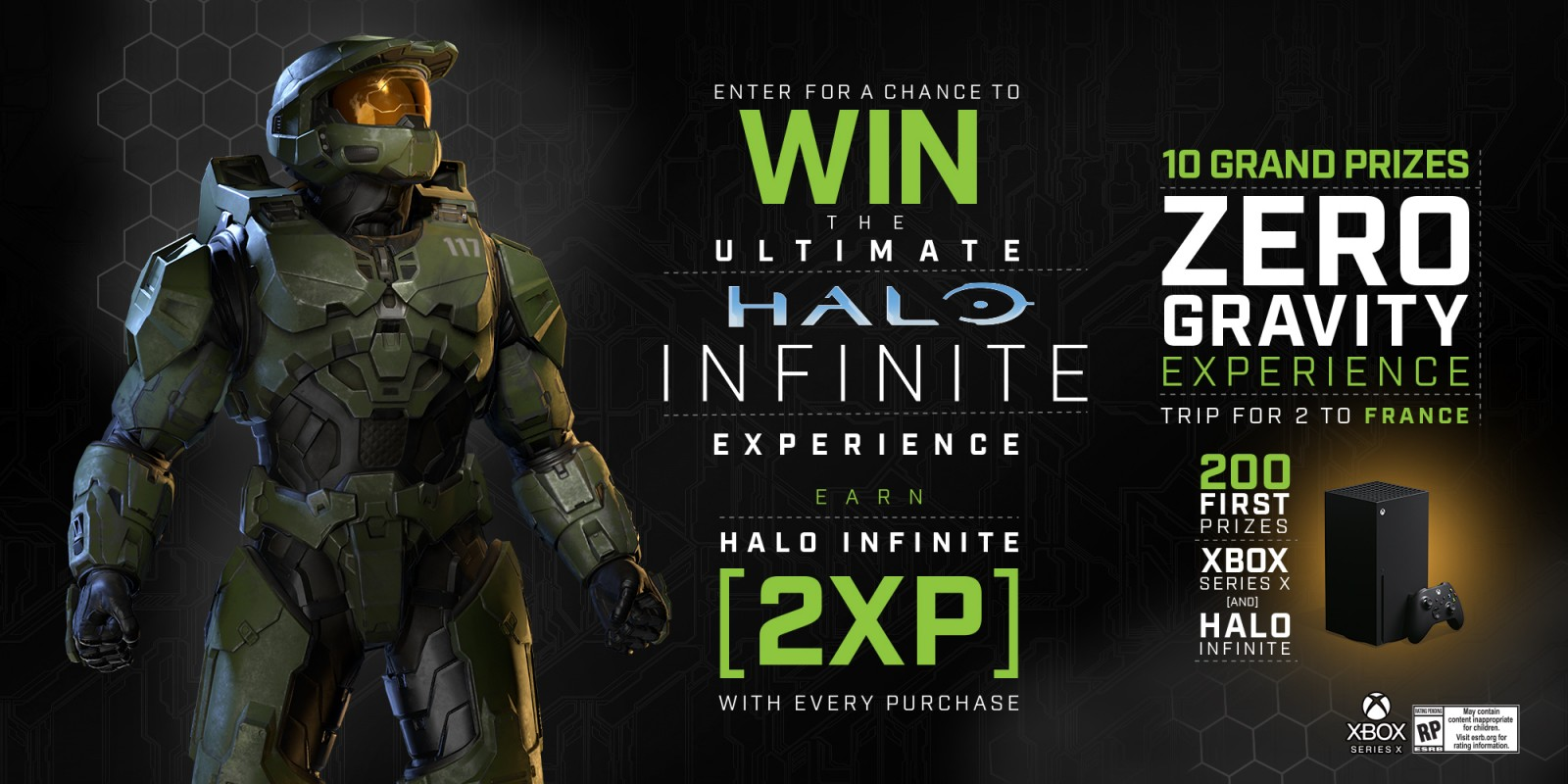 Halo Infinite Monster Energy Promo Win Xp An Xbox And More