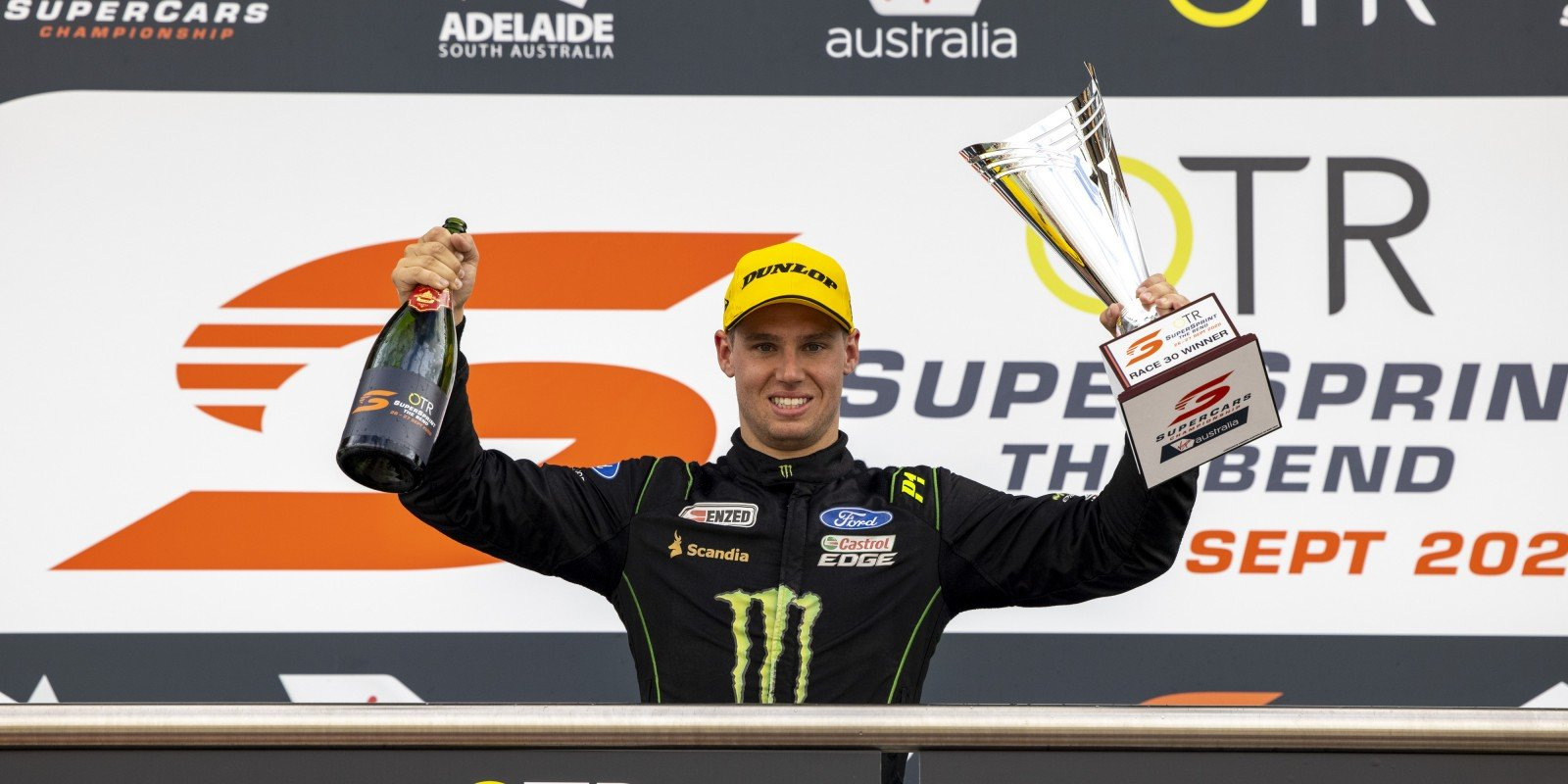 Cameron Waters Takes Podium at The Bend - V8 Supercars