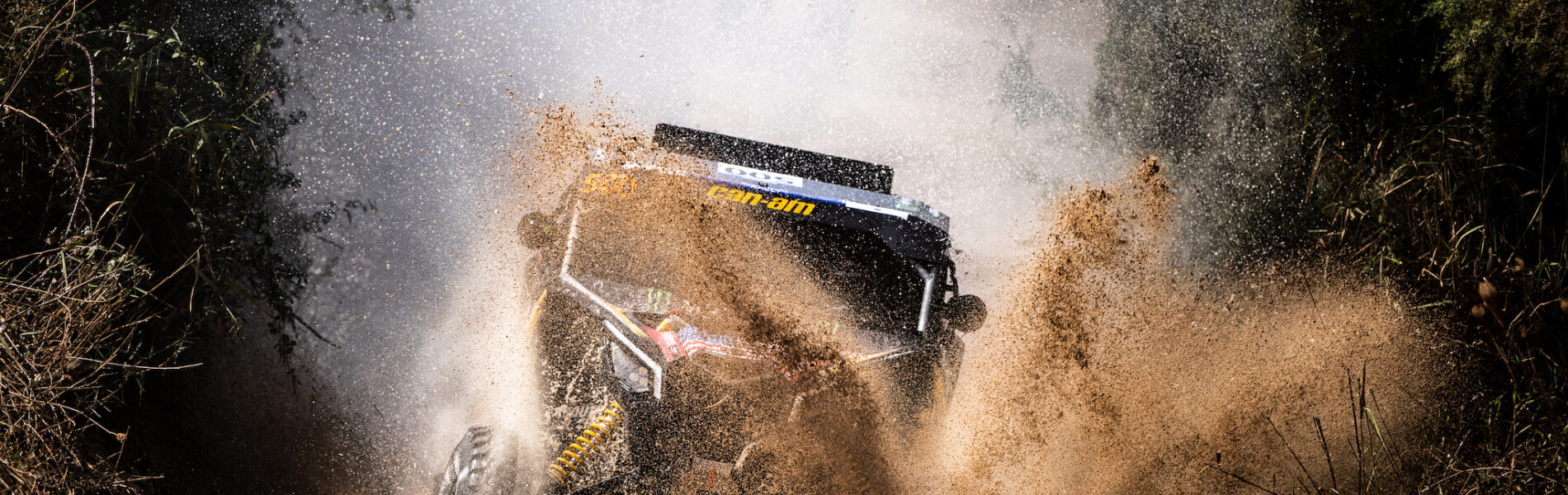 Monster Energy Can Am Team Images - 2020 Rally Andalucia
