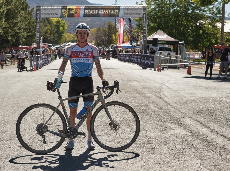 Photos of our athletes from the Belgian Waffle Ride