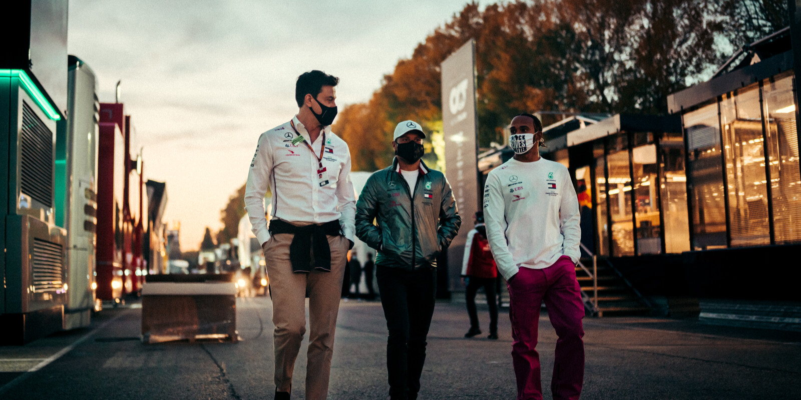 Images from round 13 of the 2020 F1 World Championship - Emilia Romagna (San Marino)